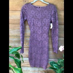 Lacy Bodycon Mini dress
